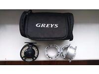 Grays grxi 5/6 fly reel