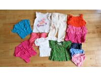 Baby/Toddler girl's summer clothes bundle 6-24 months including Polarn O Pyret, babyGap