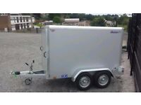 8x5x5 TOW A VAN INDESPENSION BOX TRAILER - GREAT SAVING OF £210 OF R.R.P