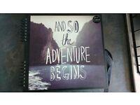Adventure scrapbook