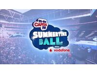 Capitals Summer time ball tickets, collect outside stadium