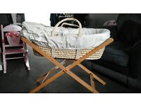 mamas and papas moses baskets for sale