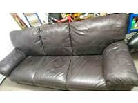 4 seater leather sofa good condition offers accepted