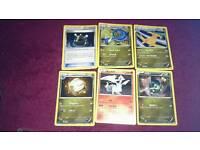 Pokemon 6 Japanese foil cards dragonite