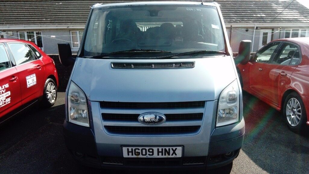 Ford Transit 9 Seater Mini Bus Mot and Taxed Ex Private Hire.