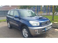 2003 Toyota RAV4 diesel MOT till December in excellent condition