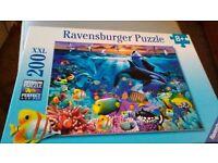 Ravensburger Jigsaw 8+ Underwater scene 200 pcs Premium Puzzle