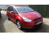 Ford S-MAX zetec 1.8 tdci 6g .7 seater mpv f.s.history excellent condition.