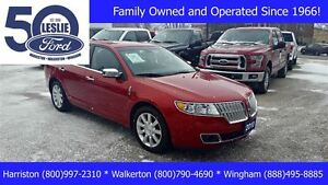 2010 Lincoln MKZ FWD | LEATHER | One Owner
