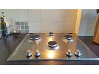 Hotpoint Gas Hob (Built-In) Stainless Steel
