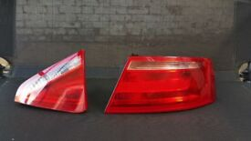 AUDI A5 REAR HALOGEN TAIL LIGHTS BOTH SIDES PRE FACELIFT 2007 OPEN TO OFFERS