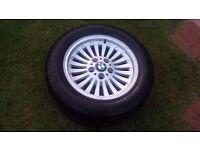 BMW E39 Alloy Wheel & Tyre £45 ONO
