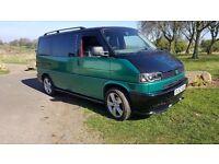 vw t4 transporter camper van day van surf van with awning