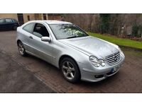 mercedes-benz c class cdi turbo diesel automatic 2006 06 plate