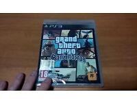 PS3 slim 320 gb , San Andreas 2 controllers