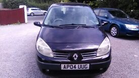 Renault Scenic Expression 1.6 16v vvt Automatic Excellent runner Full service history 2 keys