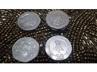 20p coins. Rare coins