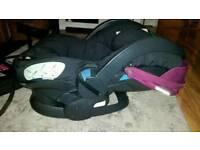Stokke BeSafe Izi sleep car seat + iso fix base