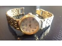 Beautiful Vintage Pulsar Ladies Gold Watch for Slim Wrist