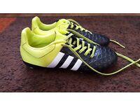 Adidas football boots - size 2 (kids)
