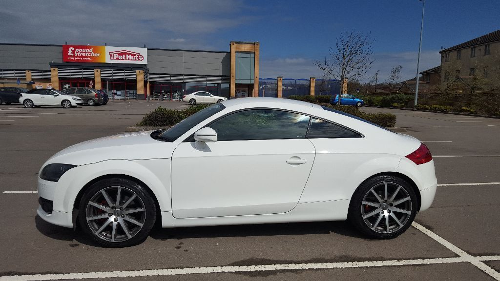 2008 audi tt 2 0 tfsi coupe ibis white mk2 tts in cyncoed cardiff gumtree. Black Bedroom Furniture Sets. Home Design Ideas