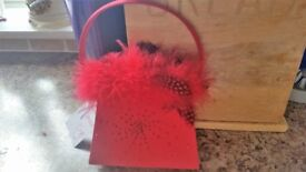Gorgeous Red Evening bag