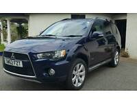Mitsubishi Outlander GX3, 2.2l 4x4 selectable, 5 door, 6 speed, 7 seater