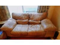 2 seater eco-leather sofa