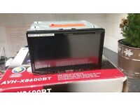 Pioneer car dvd mp3 cd dvd sd bluetooth player AVH-X8600BT