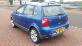 VOlKSWAGEN POLO 1.2 DUNE,LOW MILES 55000(ONLY 1 OWNER )5door,service history,excellent condition!!