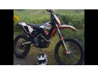 """Ktm exc 450 """"six days edition on 10 plate"""