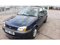 Ford Fiesta 1.2 petrol - low mileage, Long MOT, very good runner