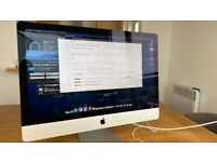 "iMac 27"" i7, 3.5GHz Quad Core, 24GB RAM, 500GB SSD, NVIDA GeForce 4GB"