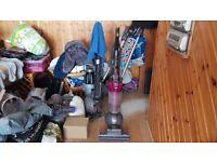 pink DYSON DC40 MULTI FLOOR ROLLERBALL VACUUM CLEANER tools 1 week guarantee no texing p