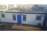 24ft portacabin available with parking spaces suitable for a variety of uses.