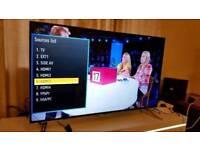 "Panasonic 55"" UHD 4K Smart ULTRA THIN Carbon Titan TV!!DELIVERY!!"