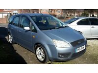FORD FOCUS C MAX 1.6, 55 REG 2006, 3 MONTHS WARRANTY, FULL SERVICE HISTORY