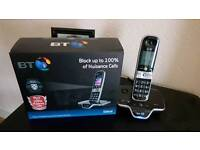 BT8600 CORDLESS PHONE/ANSWER MACHINE. WITH CALL BLOCKER.CALL GUARDIAN ETC.AS NEW BOXED.
