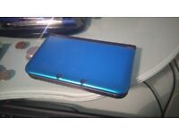 2013 Nintendo 3DS XL (Blue) - NOT UPDATED (Can be Homebrewed)