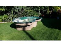 Large Used 'Atlantis' Fibreglass pond