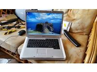 dell inspiron 1501 windows 7 160g hard drive 2g memory wifi dvd drive charger