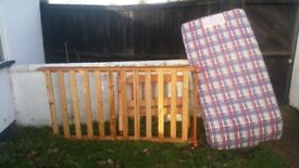 Single bed childs pine