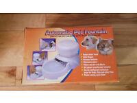 Automatic pet fountain