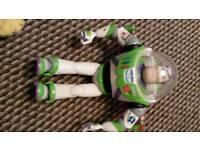 Talking Buzz Lightyear. Toy Story