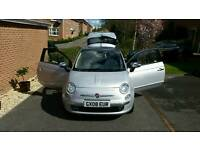 Fiat 500 lounge in silver for sale