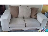 REDUCED *** Gorgeous DFS 4 and 3 seater sofas and Storage footstool