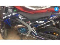 De-restricted Aprilia sx 50cc for sale, needs fixing supermoto/scooter/moped