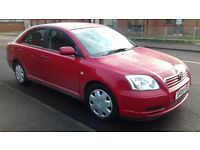 TOYOTA AVENSIS 2004 MANUAL PETROL FULL YEAR MOT EXCELENT CONDITION