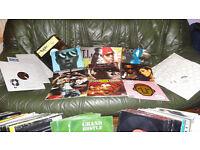 Vinyl record collection RAP, R&B, HIP-HOP
