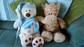 Buttons Bear & Buttons Giraffe.
